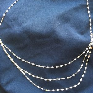 Italy Triple Strand necklace
